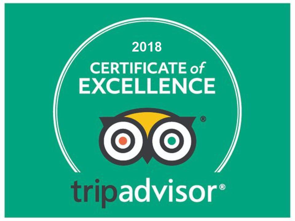 Tripadvisor Certificado Excelencia